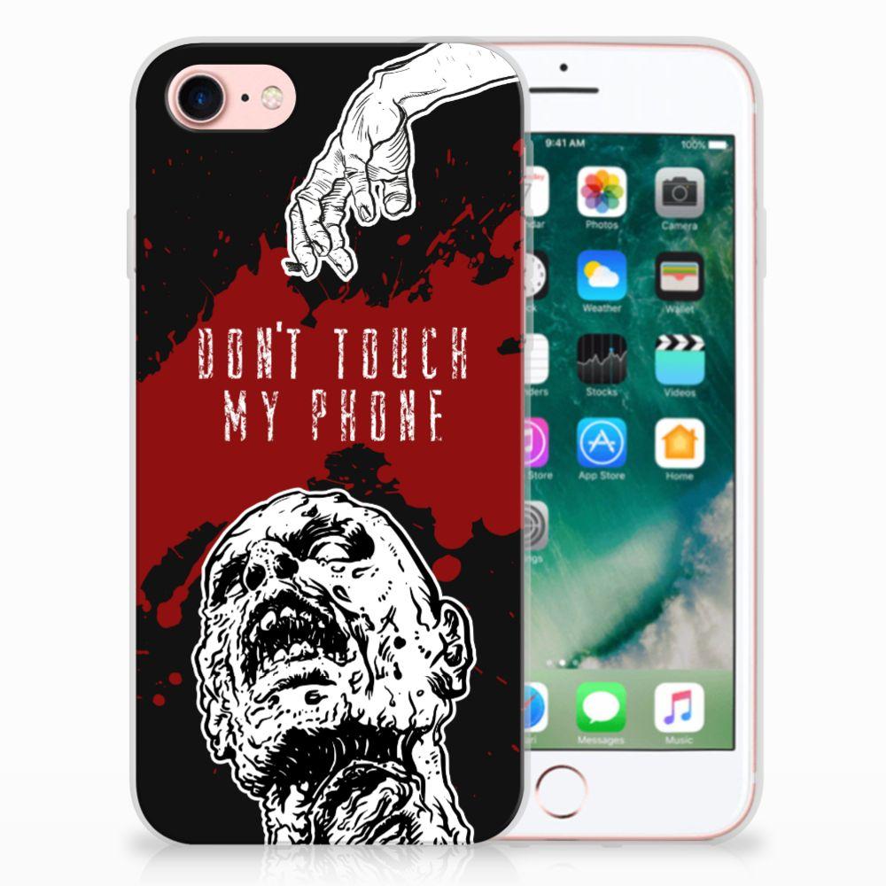Apple iPhone 7 | 8 TPU Hoesje Design Zombie Blood