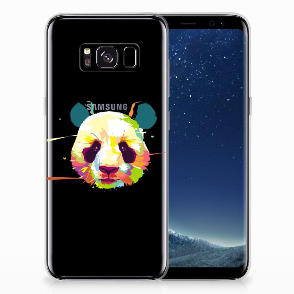 Samsung Galaxy S8 Telefoonhoesje met Naam Panda Color