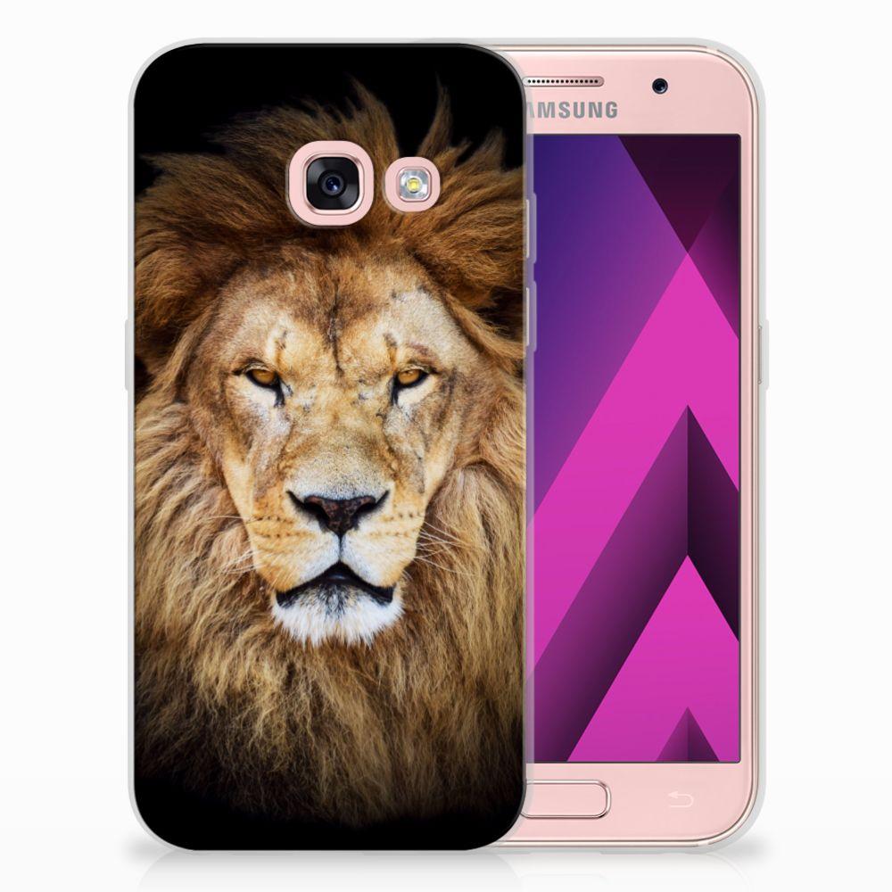 Samsung Galaxy A3 2017 TPU Hoesje Design Leeuw