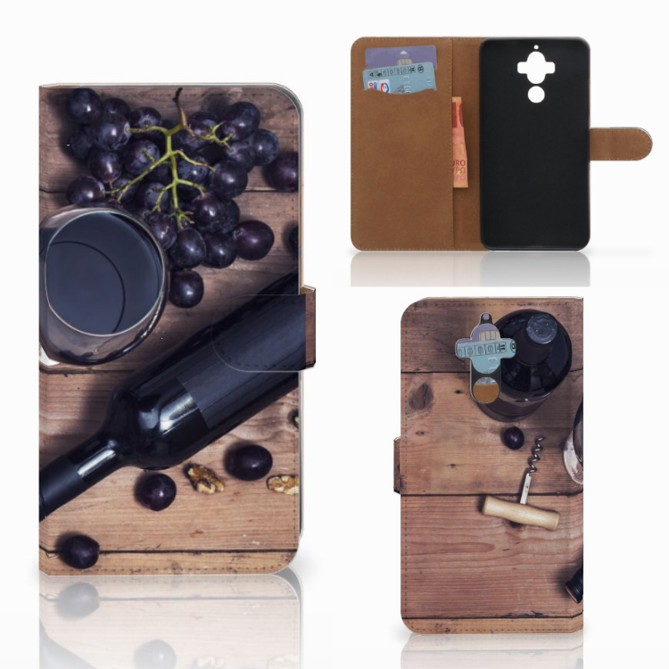 Huawei Mate 9 Book Cover Wijn
