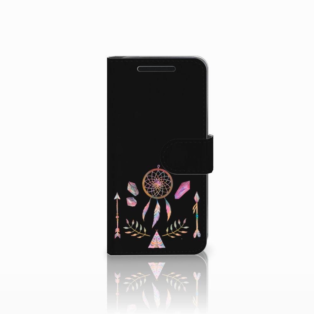 HTC One M9 Uniek Boekhoesje Boho Dreamcatcher
