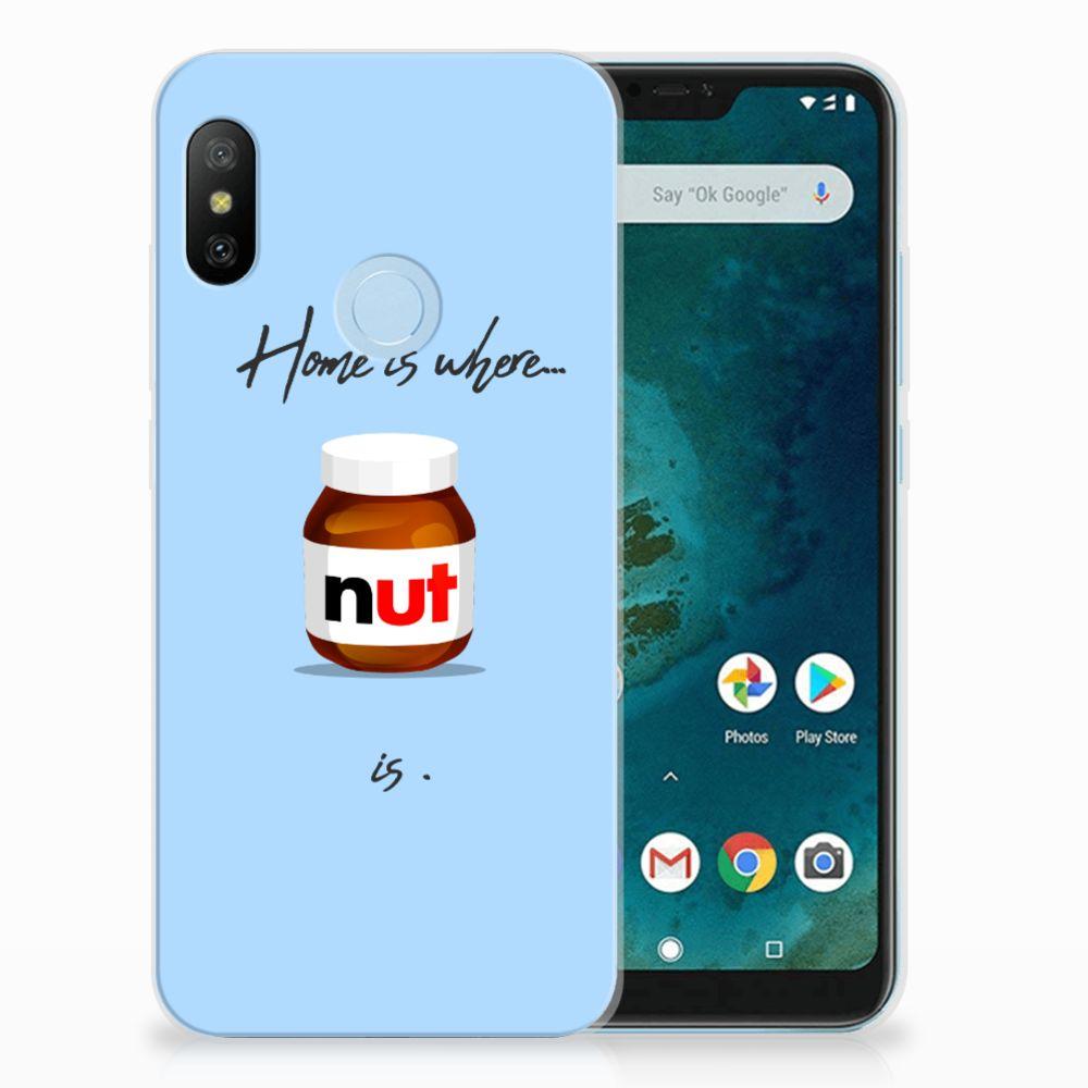 Xiaomi Mi A2 Lite Siliconen Case Nut Home