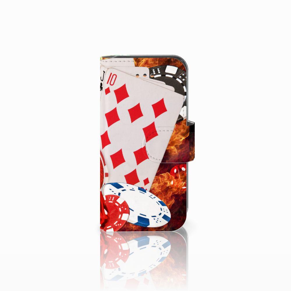 Apple iPhone 5C Uniek Boekhoesje Casino