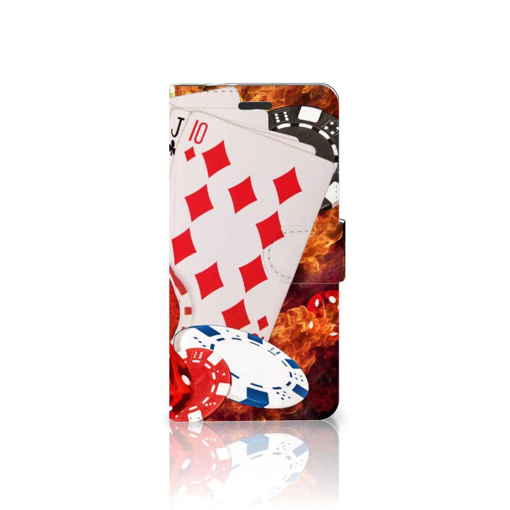 Motorola Moto Z Uniek Boekhoesje Casino