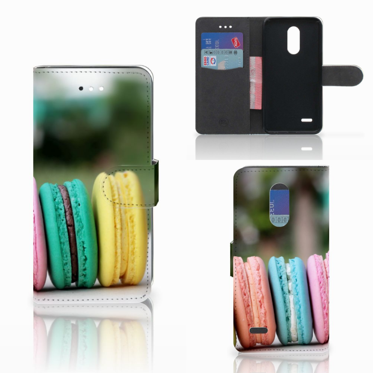LG K11 Book Cover Macarons