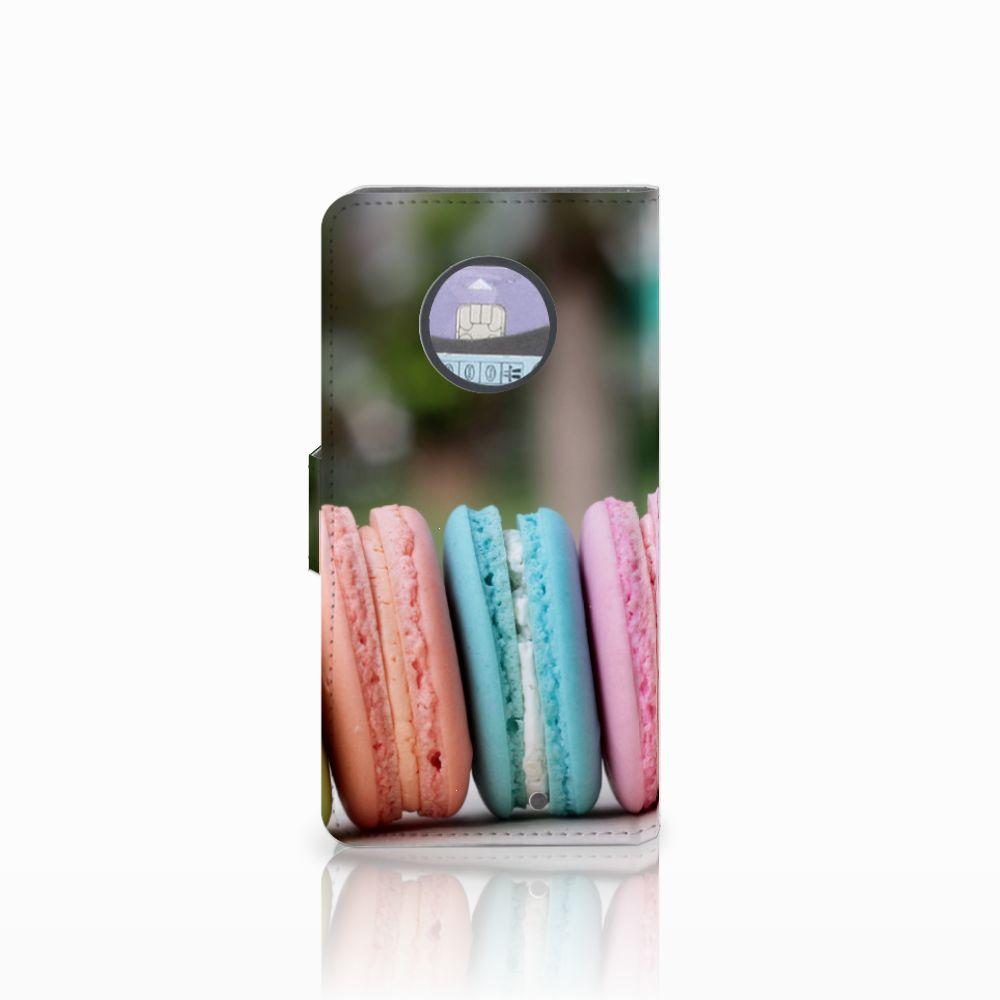 Motorola Moto X4 Book Cover Macarons