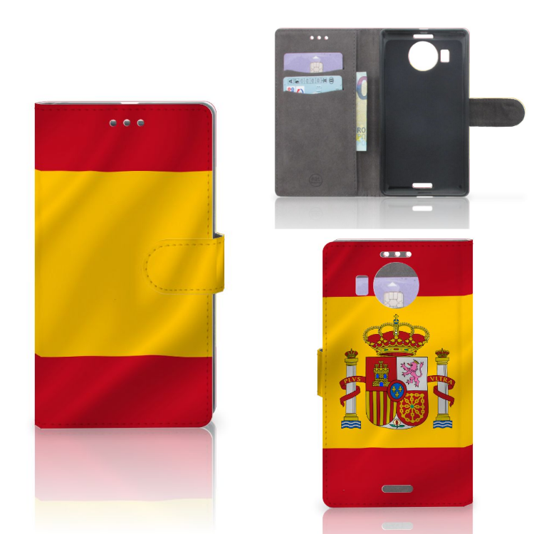 Microsoft Lumia 950 XL Bookstyle Case Spanje