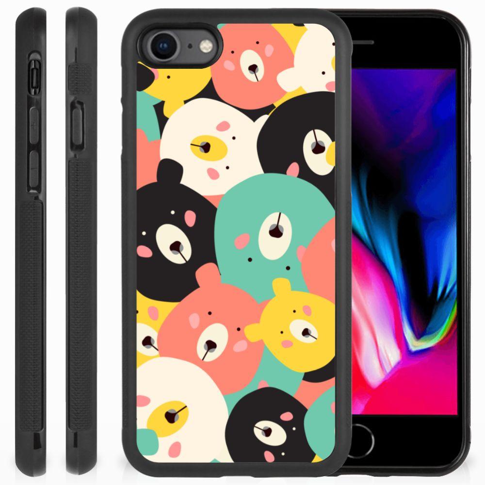 Apple iPhone 7 | 8 Bumper Hoesje Bears