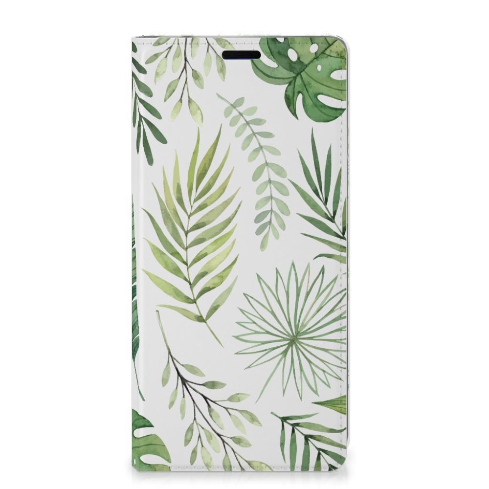 Samsung Galaxy A9 (2018) Smart Cover Leaves