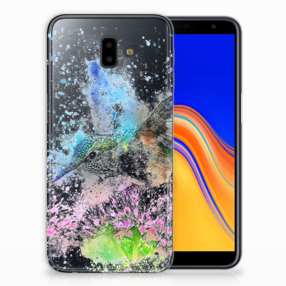 Samsung Galaxy J6 Plus (2018) TPU Hoesje Design Vogel