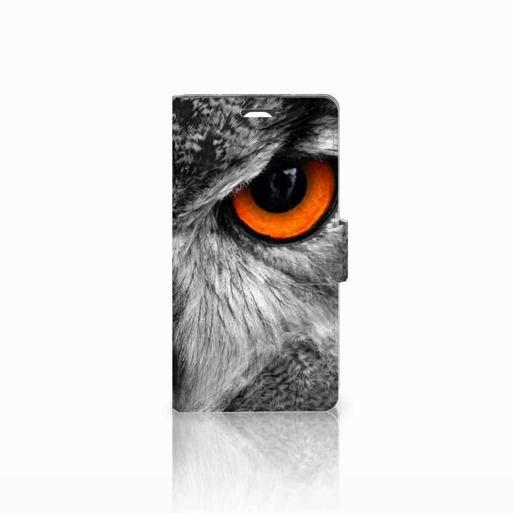LG Magna | G4C Telefoonhoesje met Pasjes Uil