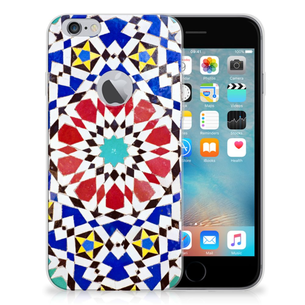 Apple iPhone 6 Plus | 6s Plus TPU Siliconen Hoesje Mozaïek