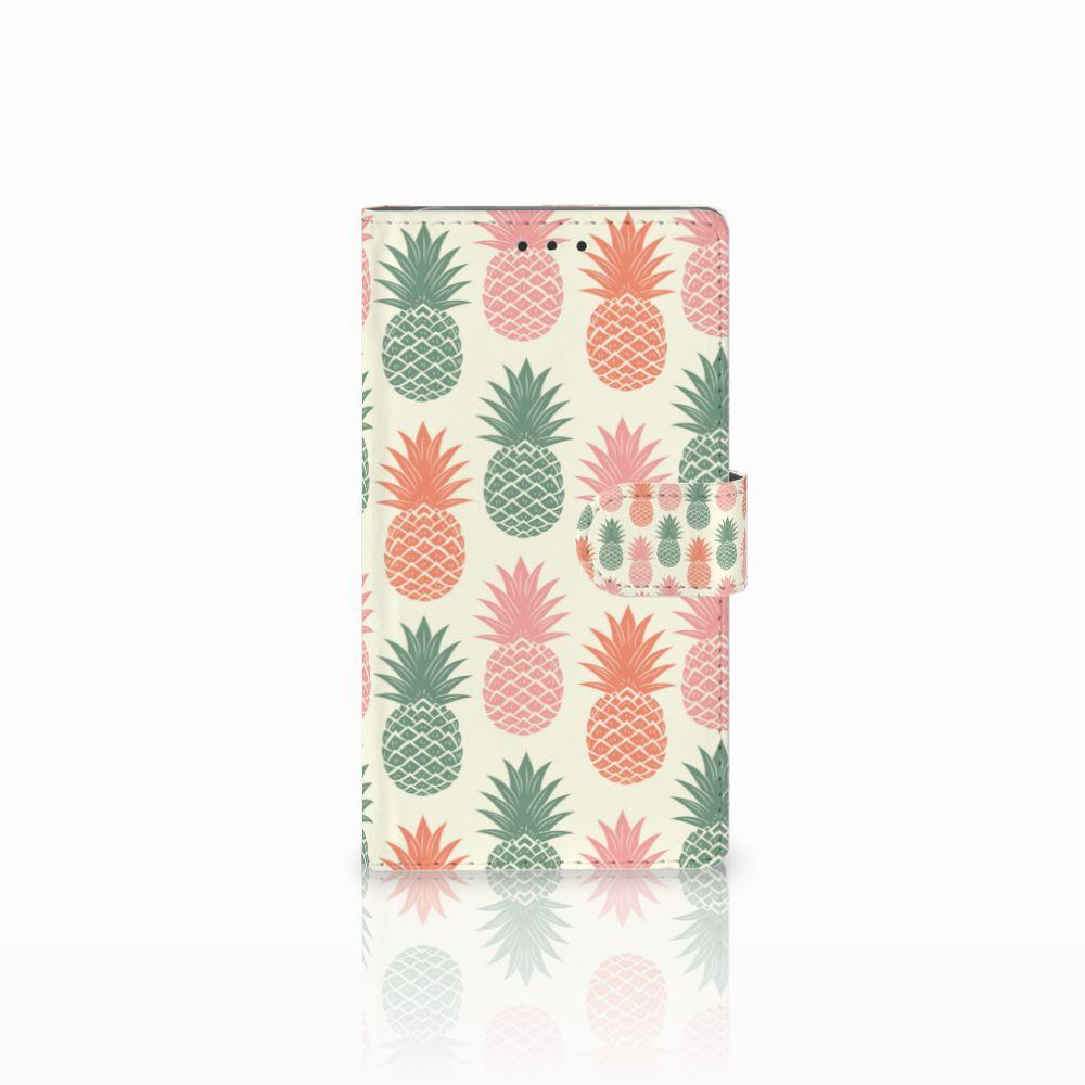 Samsung Galaxy Note 3 Boekhoesje Design Ananas