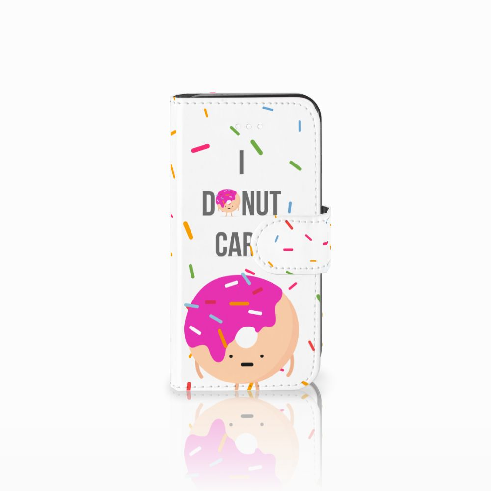 Apple iPhone 5 | 5s | SE Book Cover Donut Roze