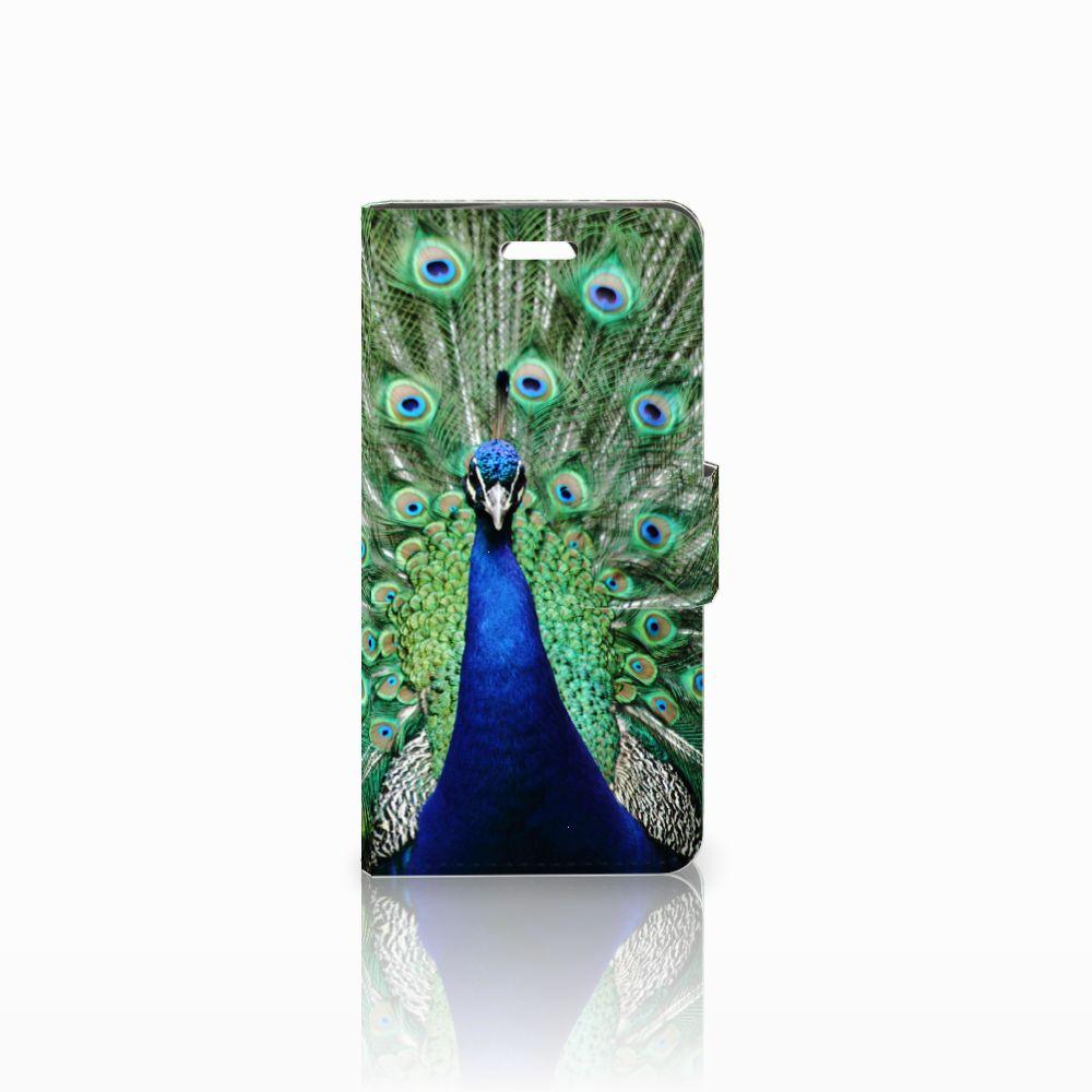 Acer Liquid Z330 Boekhoesje Design Pauw