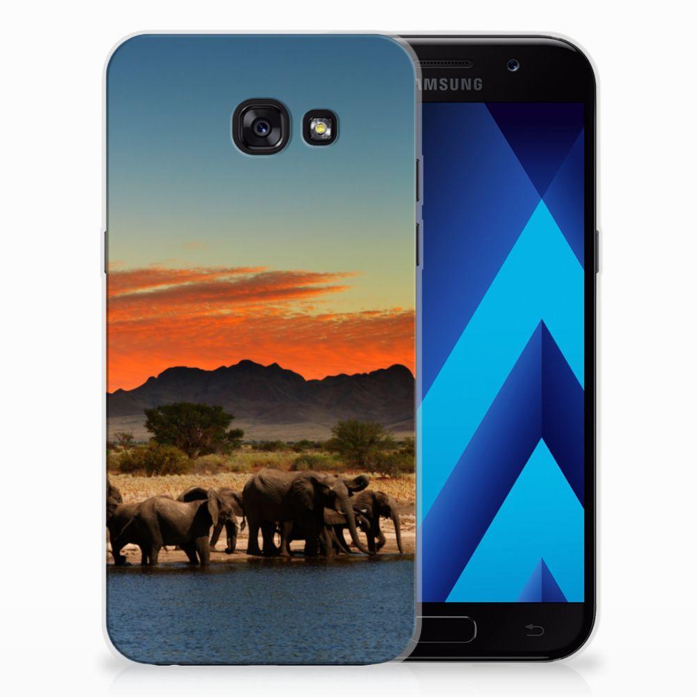 Samsung Galaxy A5 2017 TPU Hoesje Olifanten