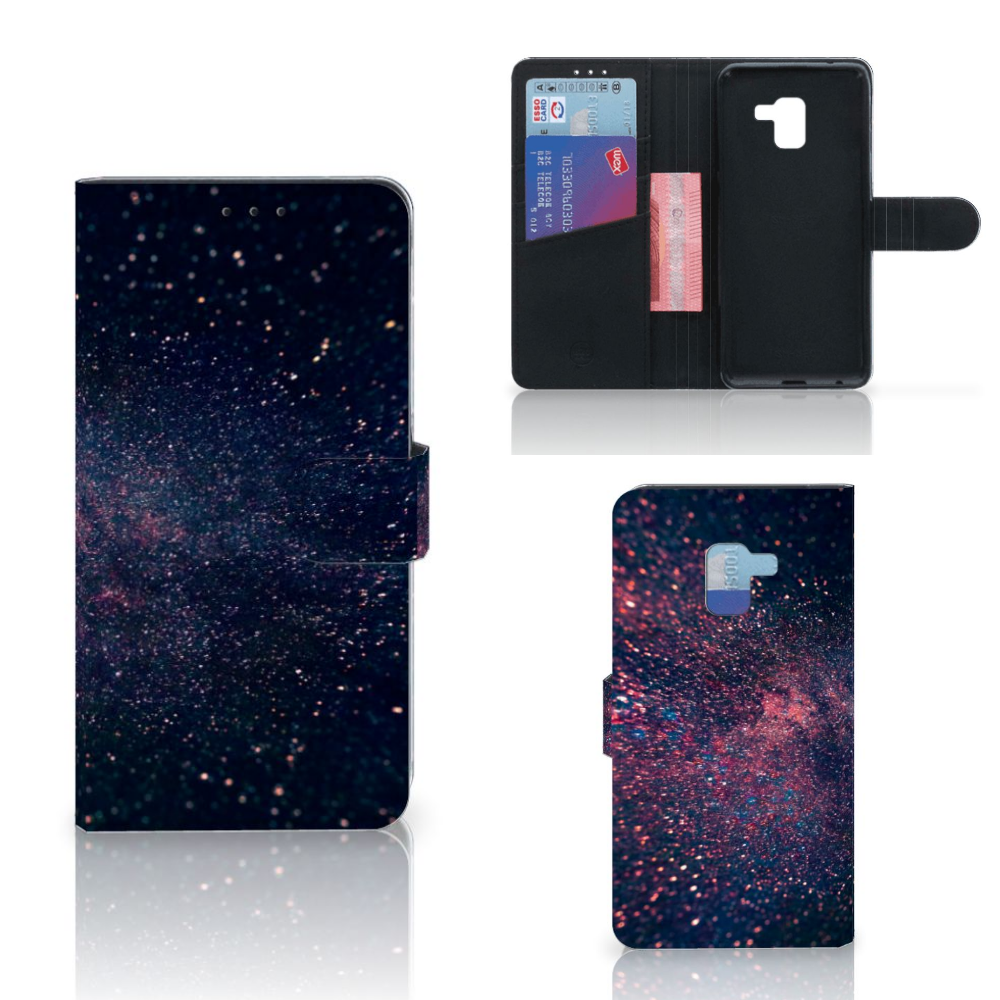 Samsung Galaxy A8 Plus (2018) Bookcase Stars