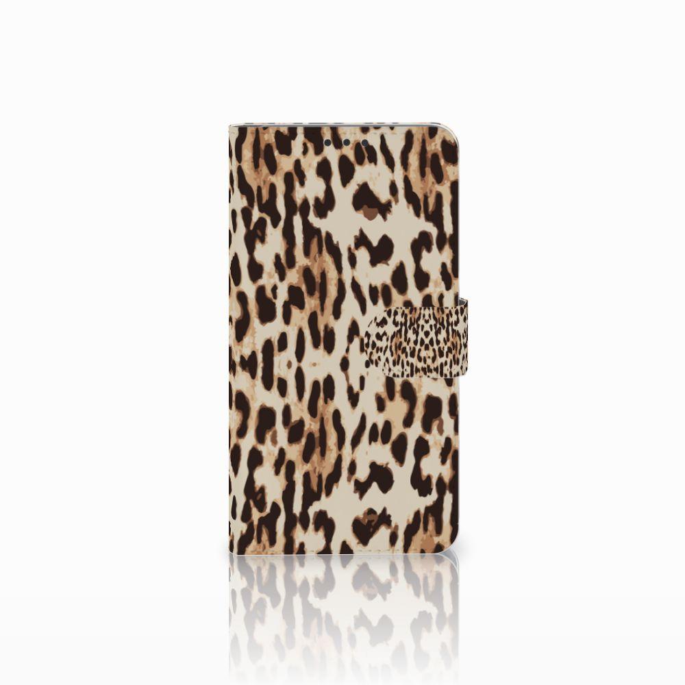 Microsoft Lumia 640 XL Uniek Boekhoesje Leopard