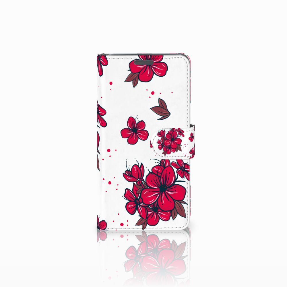 Wiko Lenny Boekhoesje Design Blossom Red