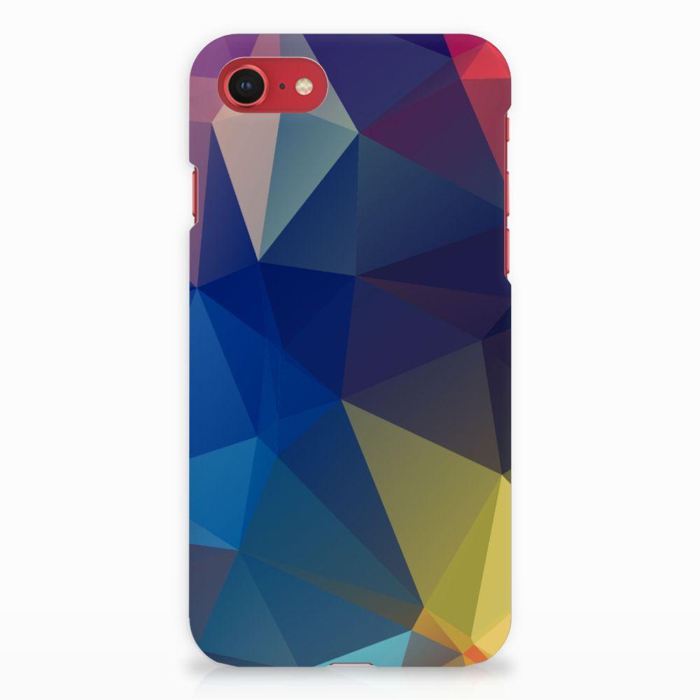 Apple iPhone 7 | 8 Rubber Case Polygon Dark