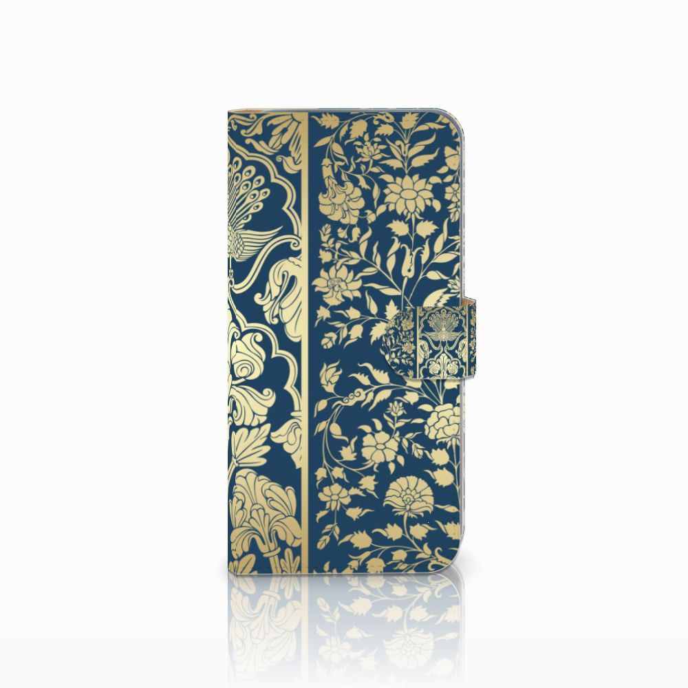 HTC Desire 10 Pro Boekhoesje Golden Flowers