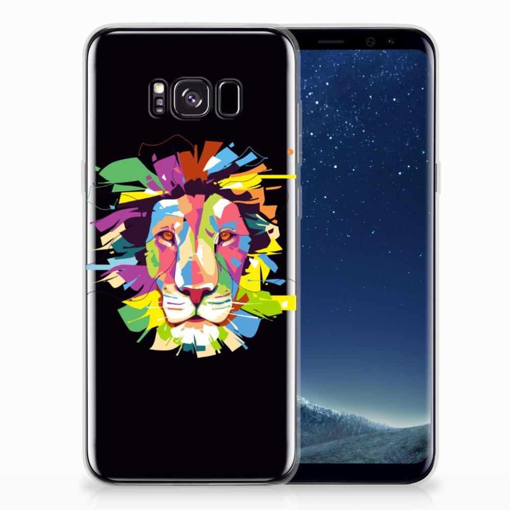Samsung Galaxy S8 Plus Telefoonhoesje met Naam Lion Color