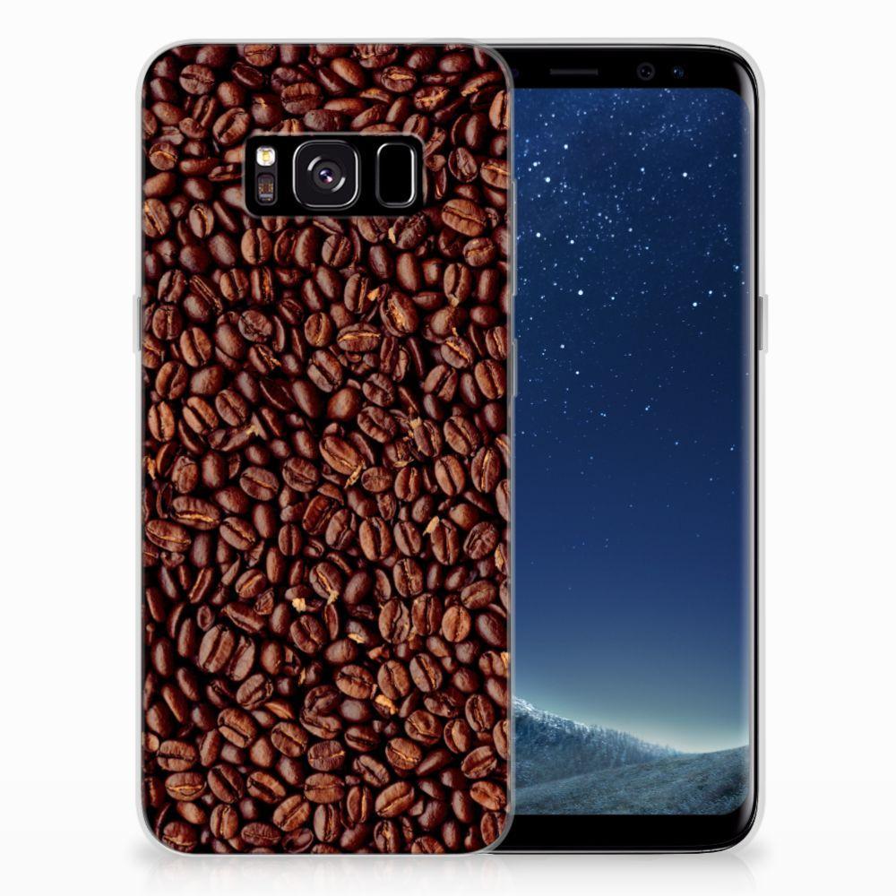 Samsung Galaxy S8 Siliconen Case Koffiebonen