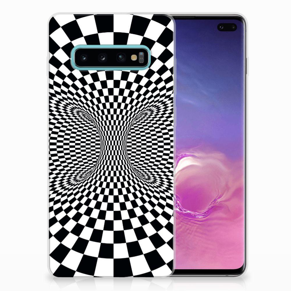 Samsung Galaxy S10 Plus TPU Hoesje Illusie
