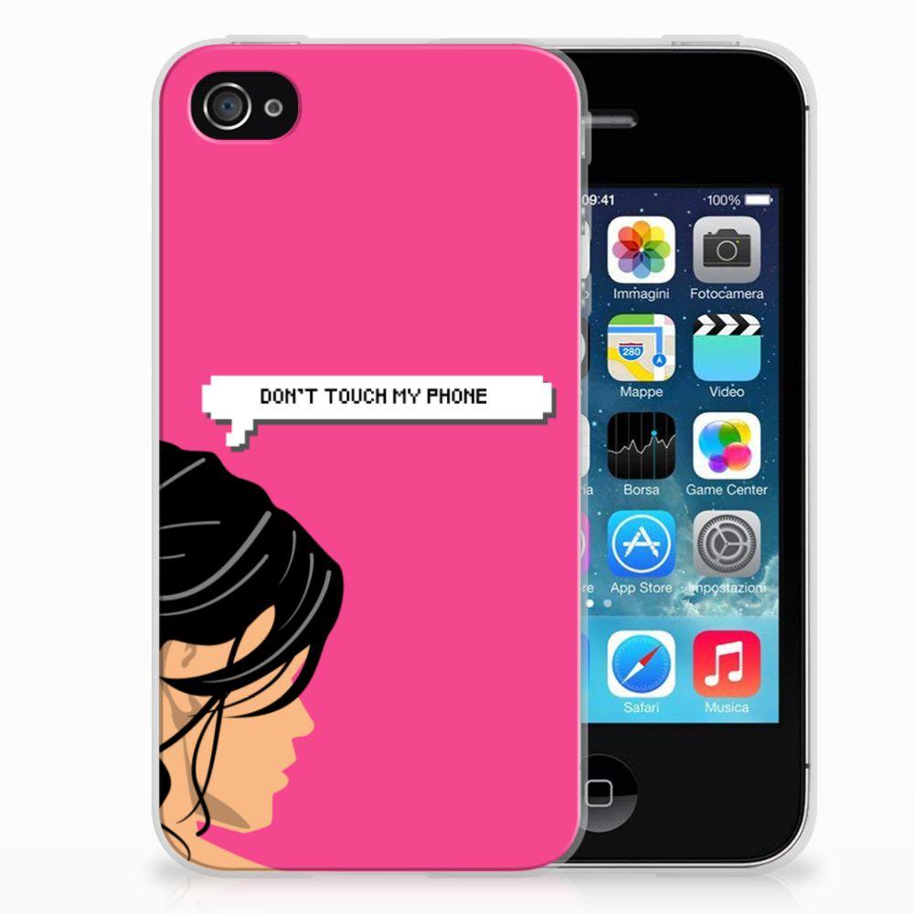 Apple iPhone 4 | 4s Uniek TPU Hoesje Woman DTMP