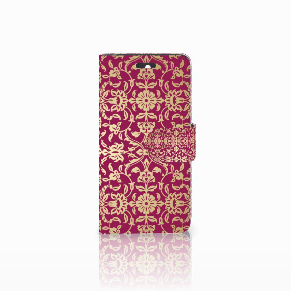 Huawei Ascend Y550 Boekhoesje Design Barok Pink