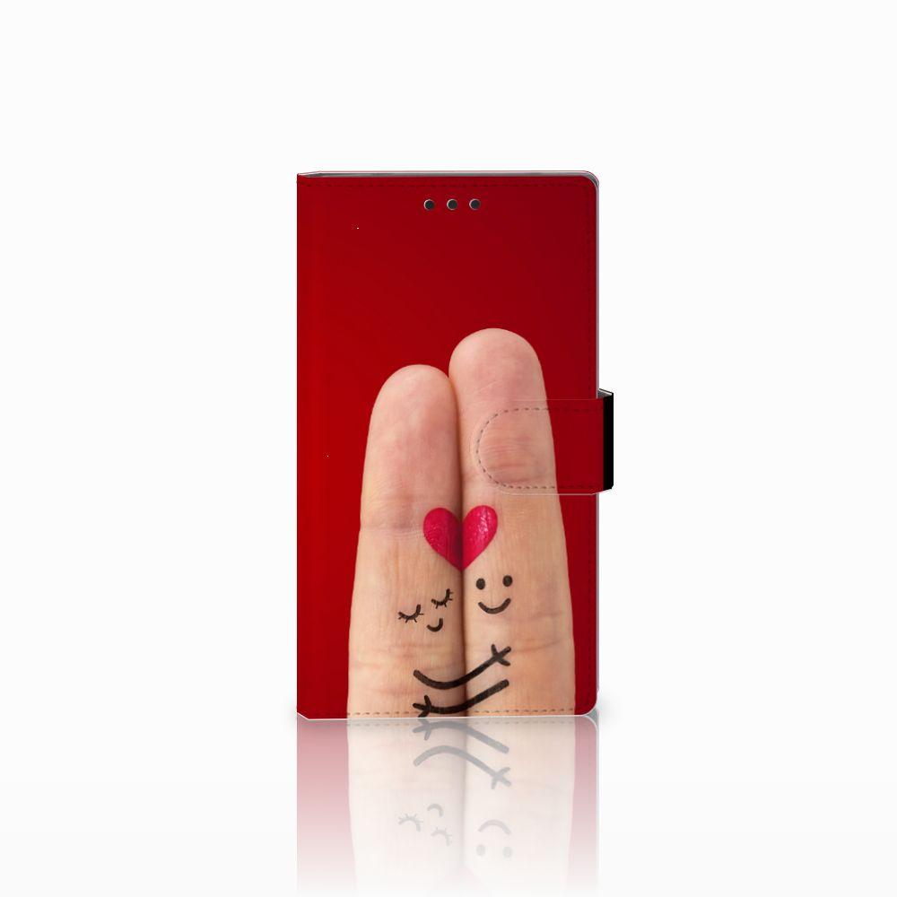 Sony Xperia L2 Uniek Boekhoesje Liefde
