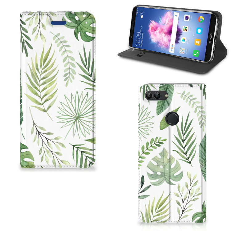 Huawei P Smart Smart Cover Leaves
