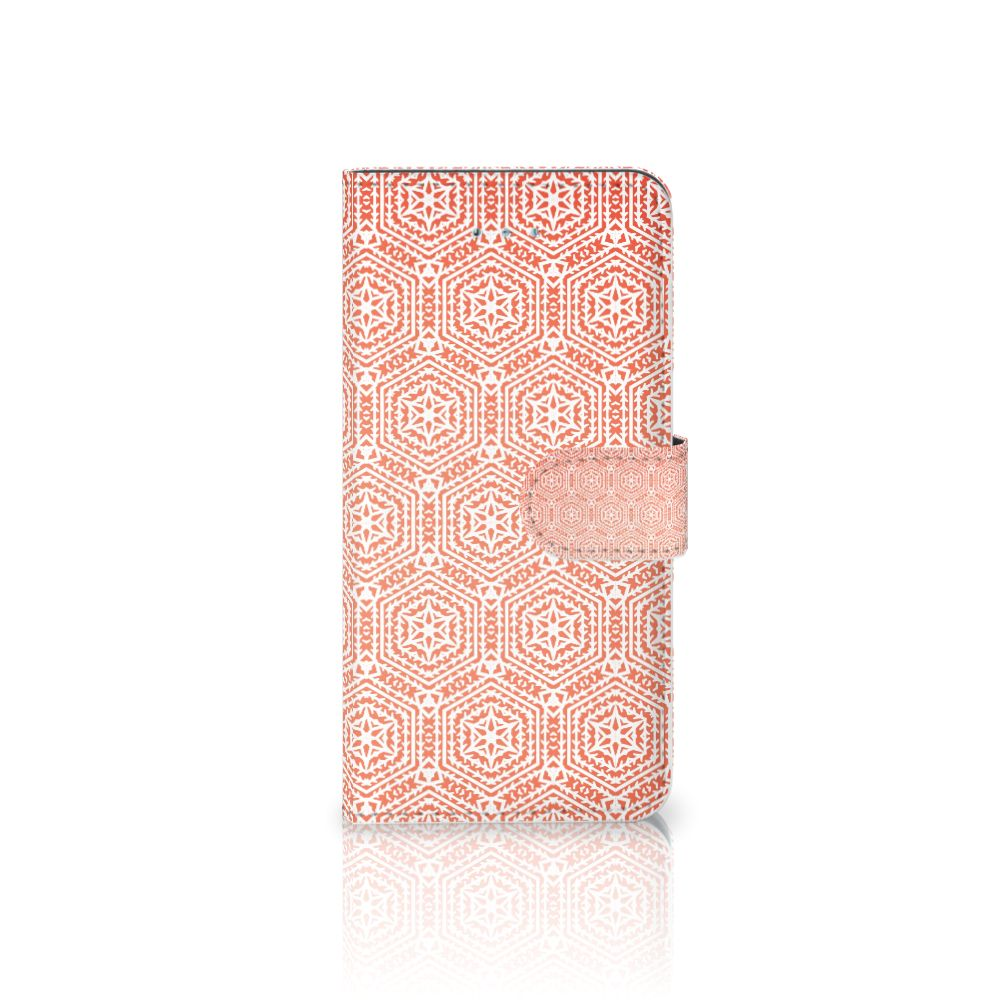 Honor 4A | Y6 Telefoon Hoesje Pattern Orange