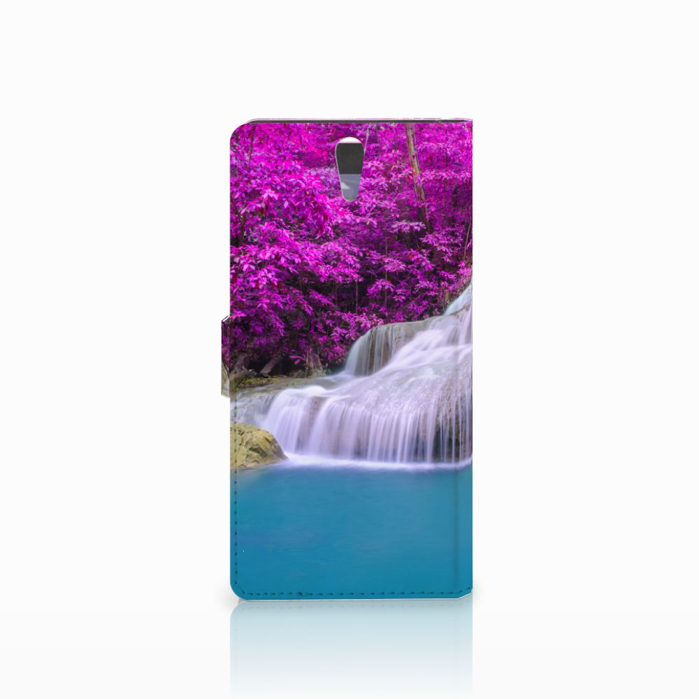 Sony Xperia C5 Ultra Flip Cover Waterval