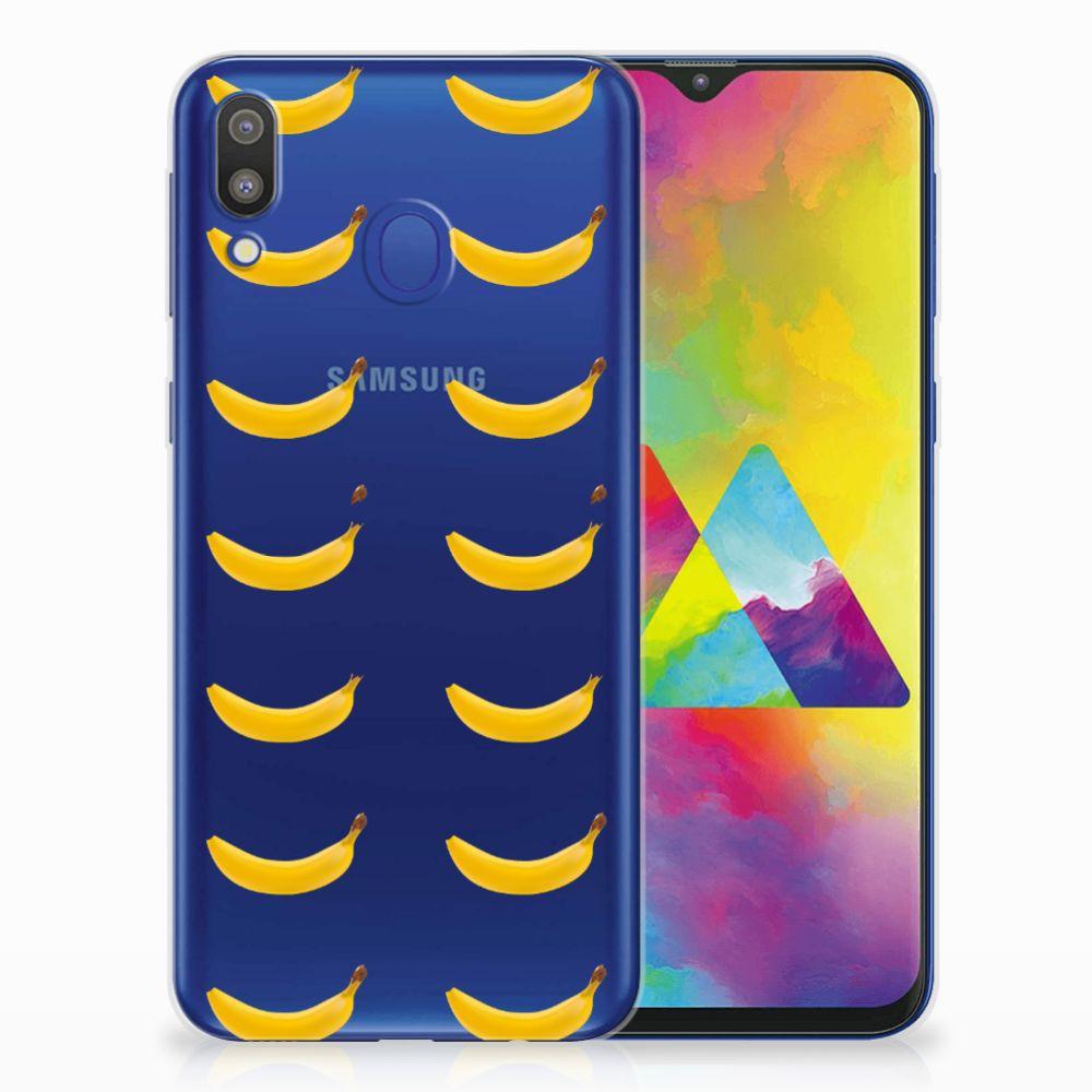 Samsung Galaxy M20 (Power) Siliconen Case Banana