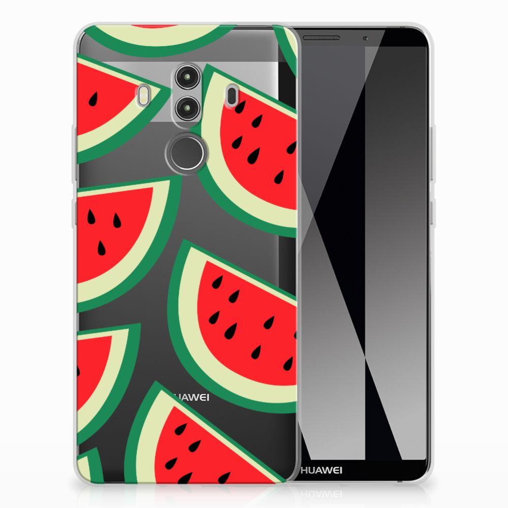 Huawei Mate 10 Pro Uniek TPU Hoesje Watermelons