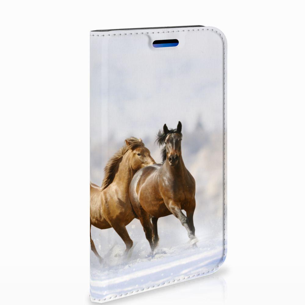 Apple iPhone X | Xs Uniek Standcase Hoesje Paarden