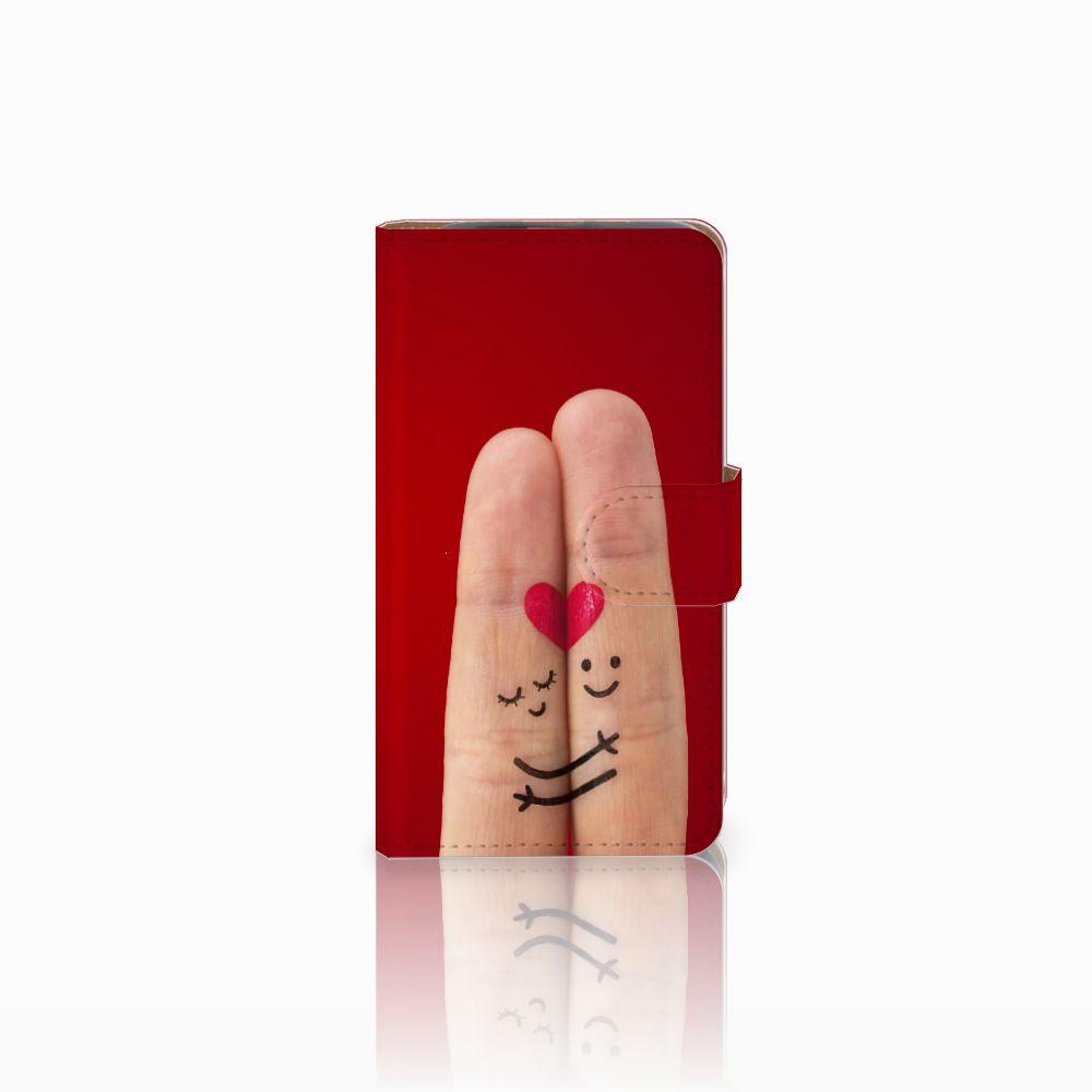 HTC Desire 310 Uniek Boekhoesje Liefde