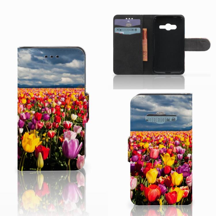 Samsung Galaxy Trend 2 Hoesje Tulpen