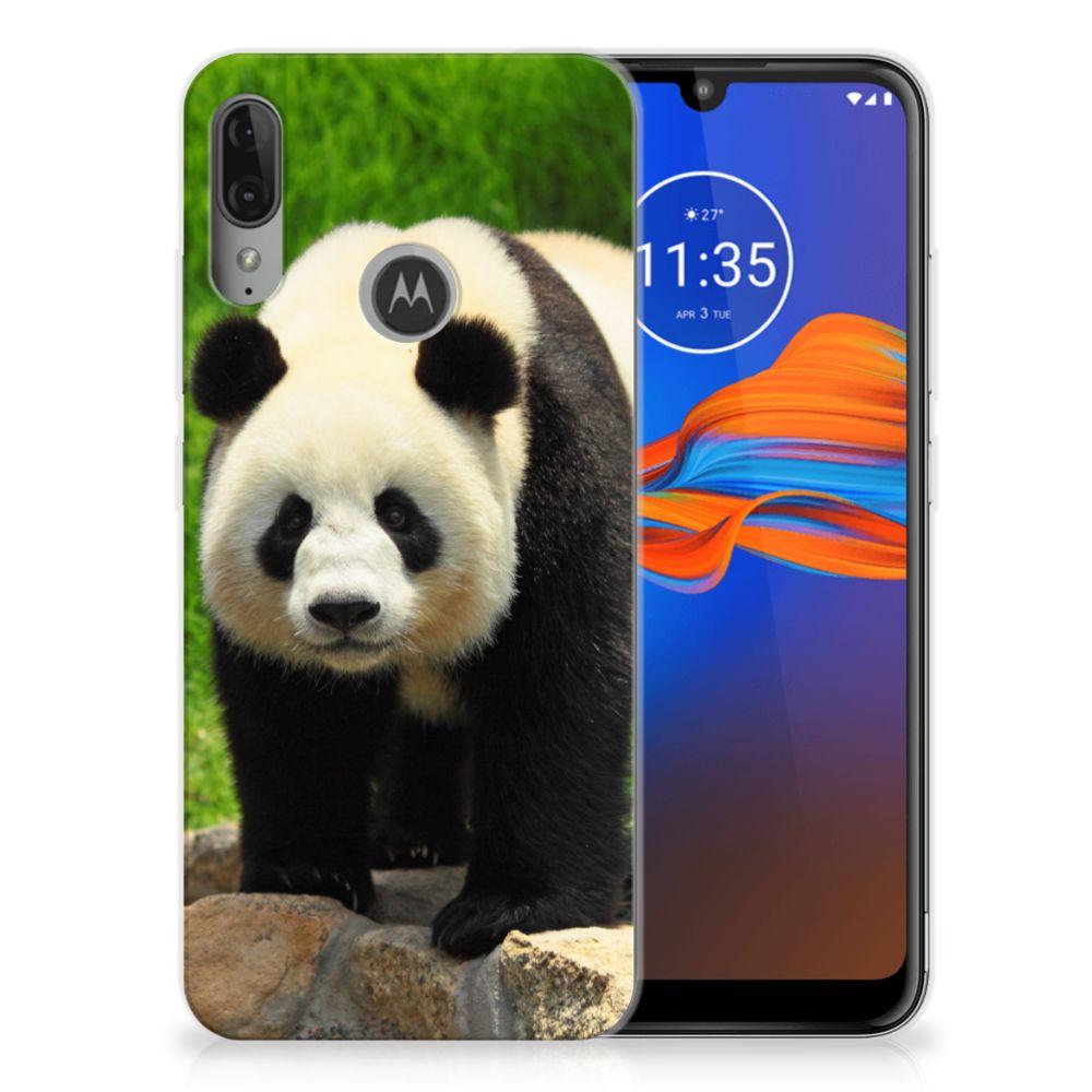 Motorola Moto E6 Plus TPU Hoesje Panda