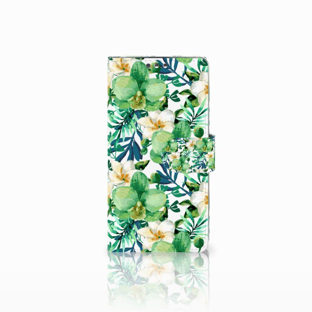 LG K8 Uniek Boekhoesje Orchidee Groen