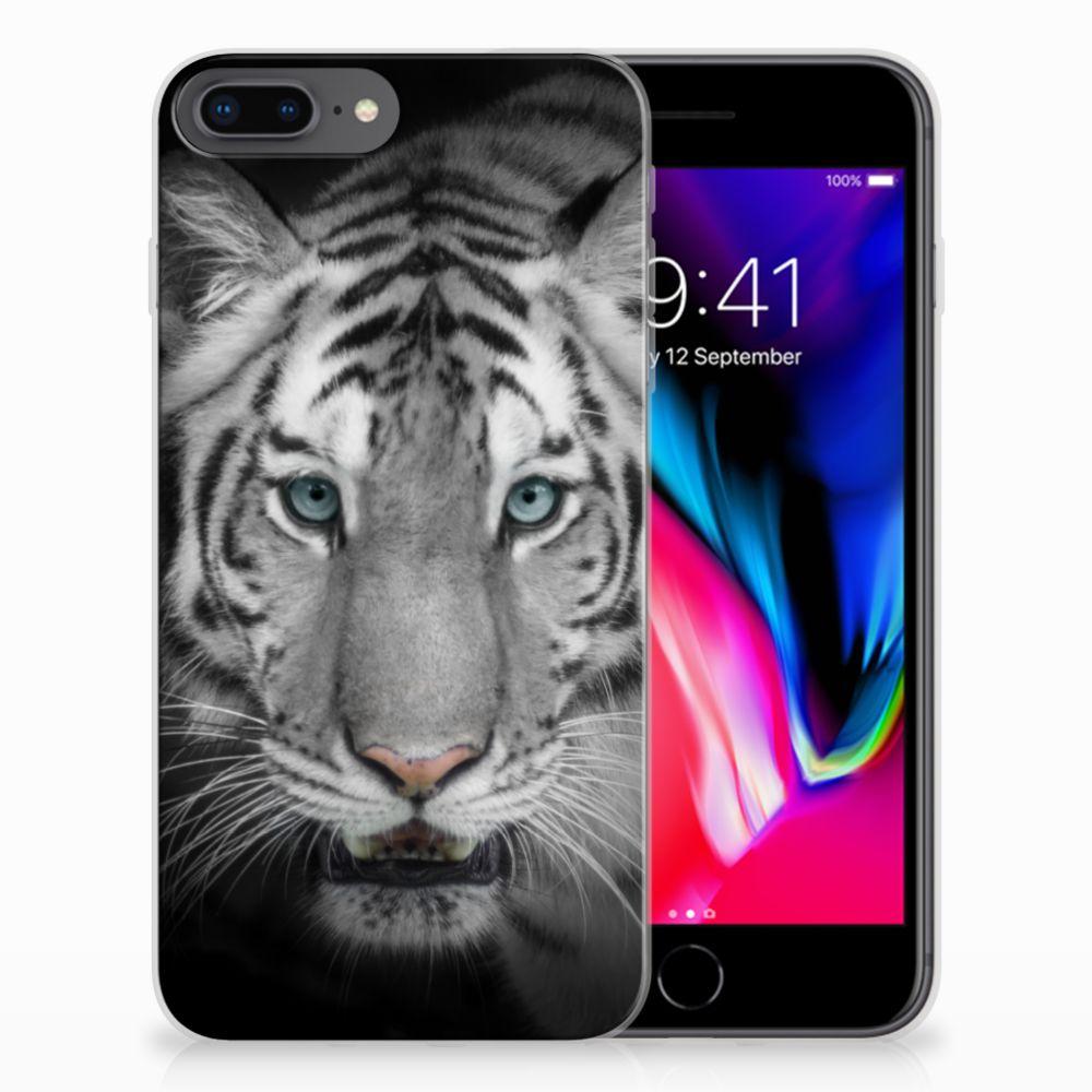 Apple iPhone 7 Plus | 8 Plus TPU Hoesje Tijger