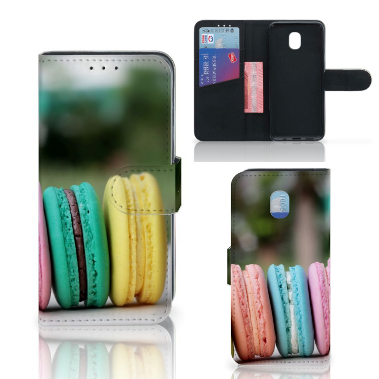 Samsung Galaxy J3 (2018) Book Cover Macarons