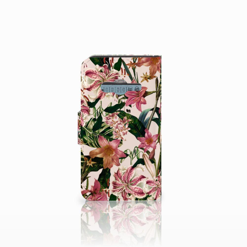Samsung Galaxy Trend 2 Hoesje Flowers