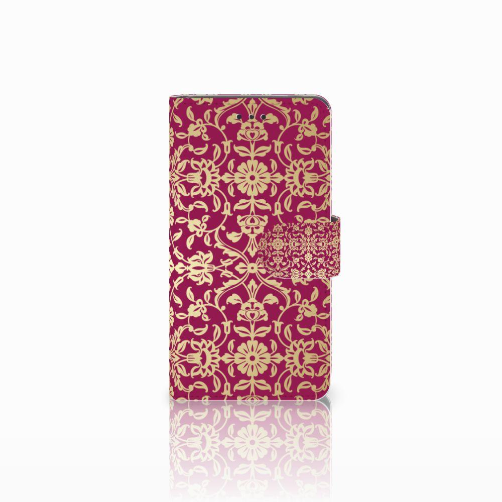Nokia 7 Boekhoesje Design Barok Pink