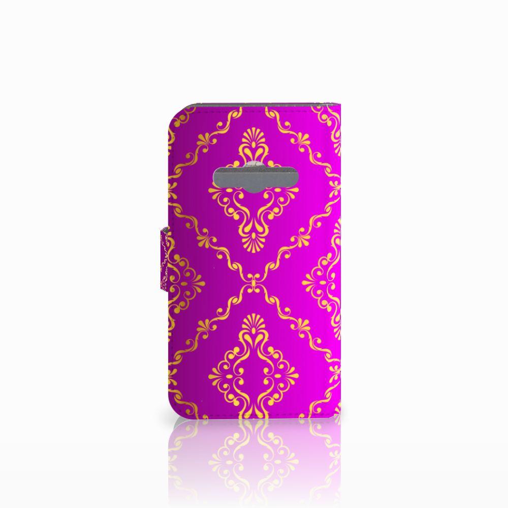 Wallet Case Samsung Galaxy Xcover 3   Xcover 3 VE Barok Roze