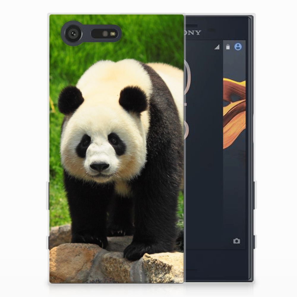 Sony Xperia X Compact TPU Hoesje Design Panda