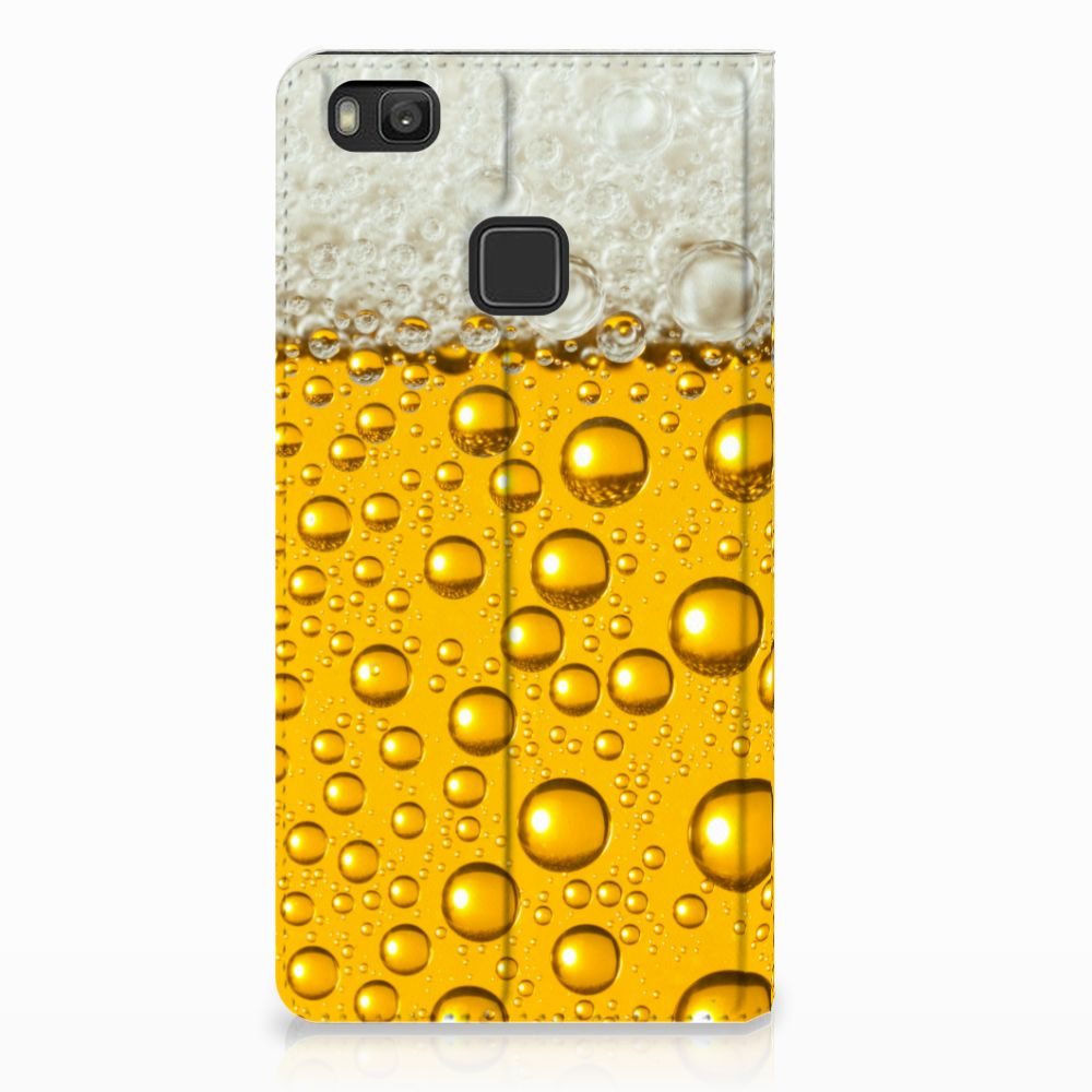 Huawei P9 Lite Uniek Standcase Hoesje Bier