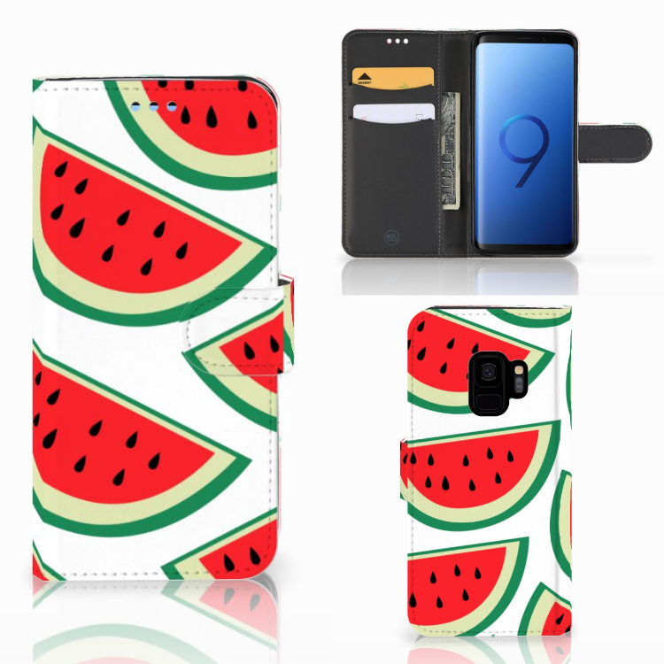 Samsung Galaxy S9 Book Cover Watermelons