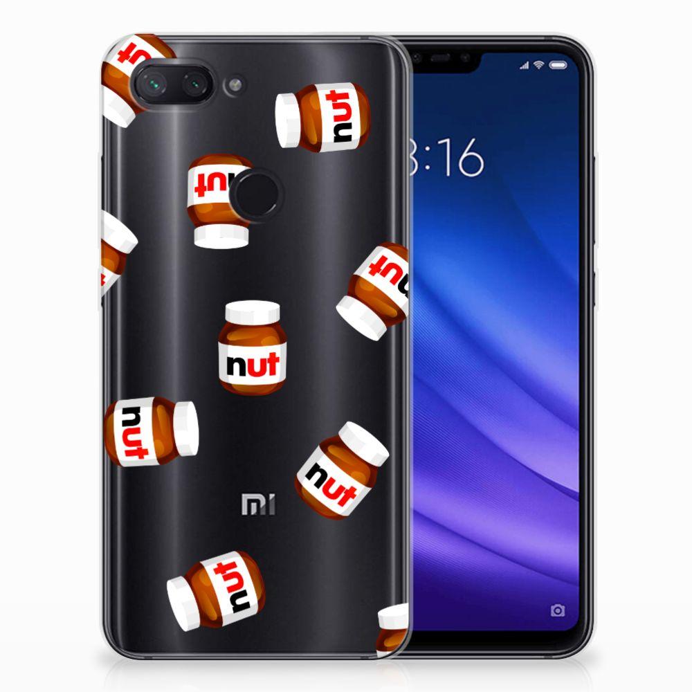 Xiaomi Mi 8 Lite Siliconen Case Nut Jar